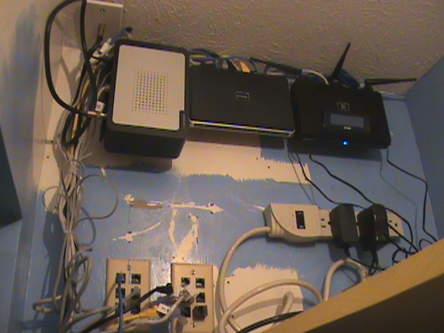 Wiring Closet 1 - Modem - Router- Switch.JPG